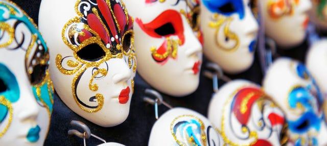 Oficina de máscaras venezianas