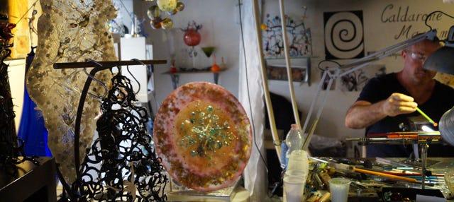 Taller de vidrio veneciano