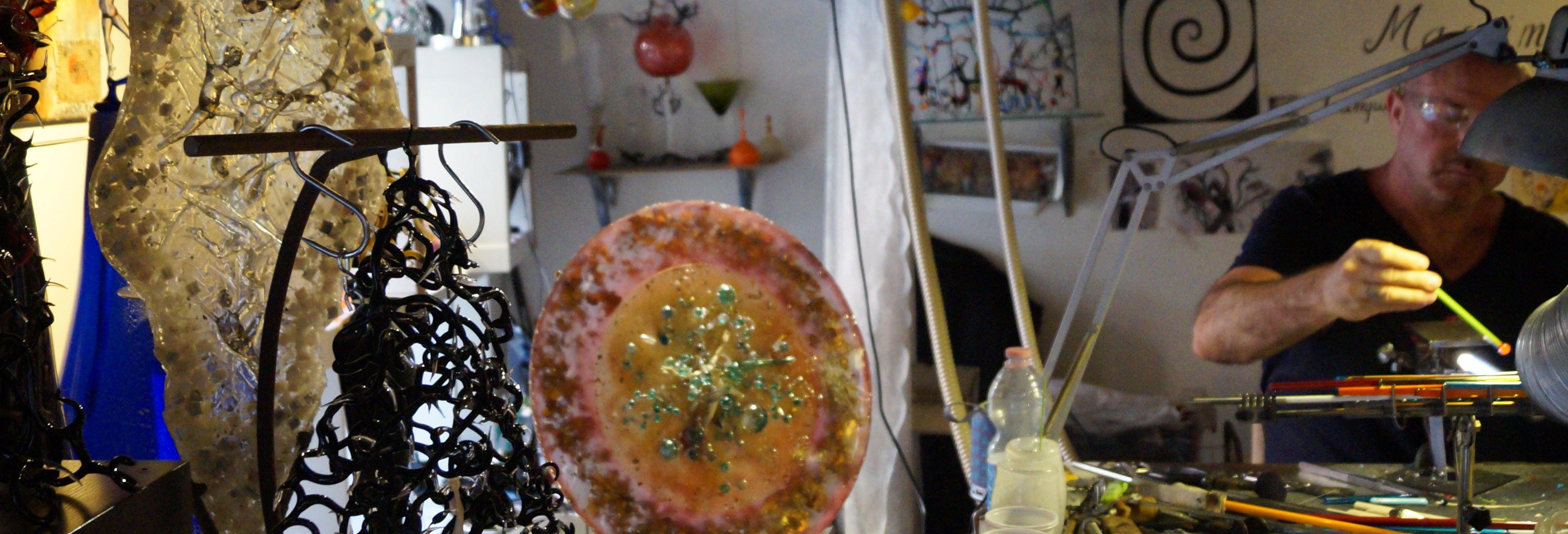 Atelier autour du verre de Murano