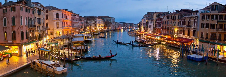 Tour por la Venecia iluminada