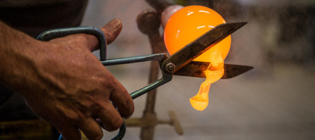 Visita a un taller de vidrio veneciano