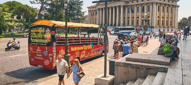 Autobus turistico di Verona