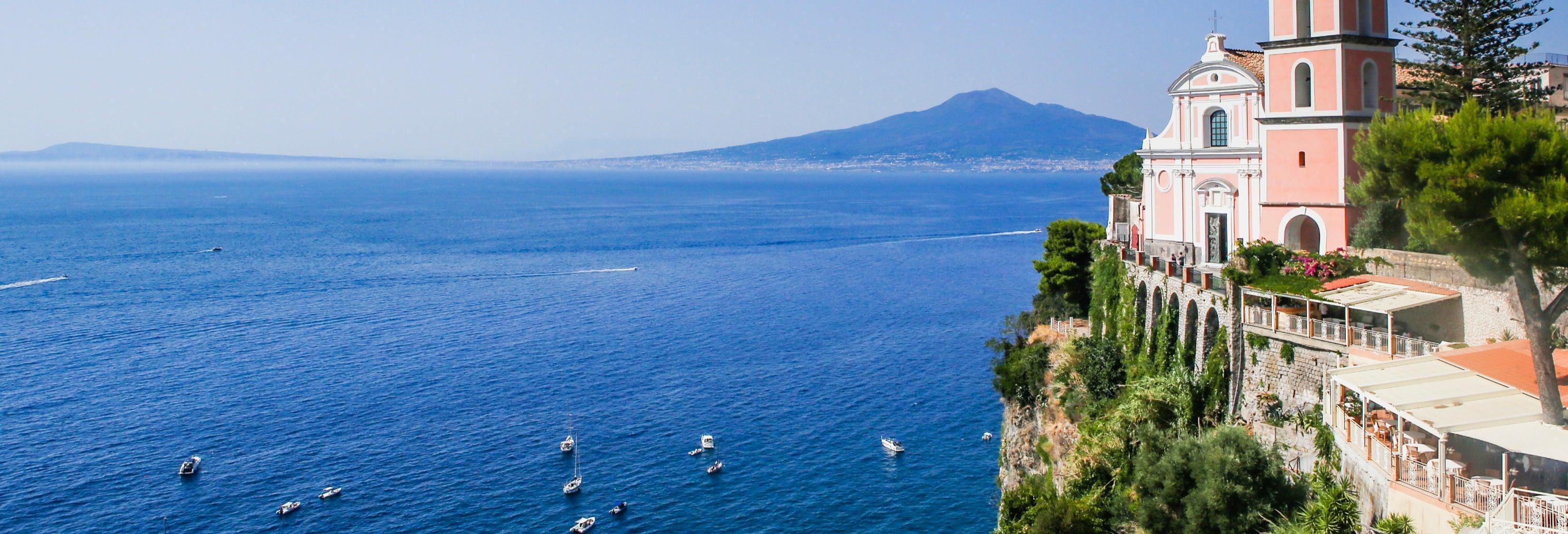 Paseo en barco por la península de Sorrento