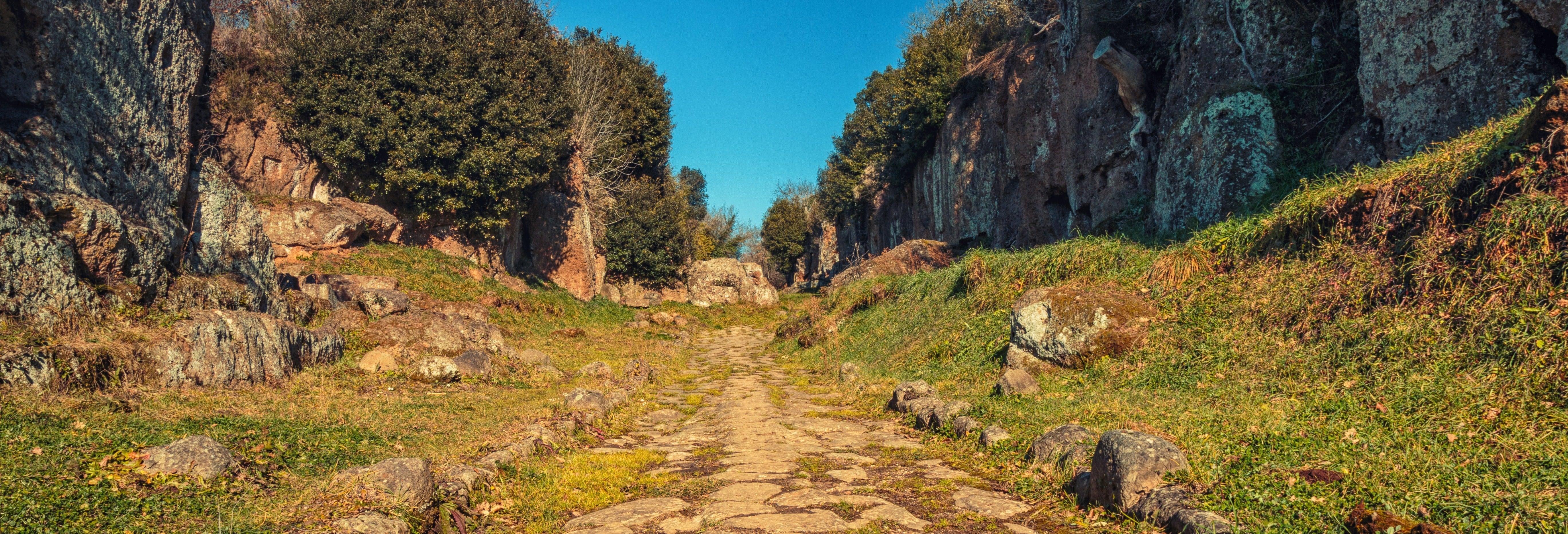 Via Amerina and Civita Castellana Trip