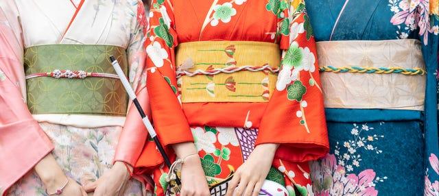 Experiencia cultural en kimono