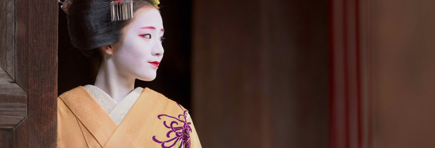 Spectacle maiko traditionnel à Kyoto