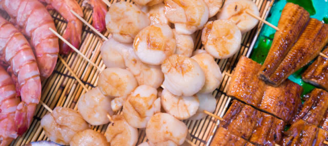 Tour gastronômico pelo mercado Kuromon