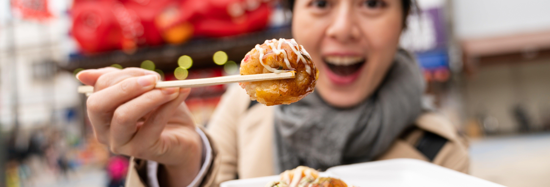 Tour gastronómico por Osaka