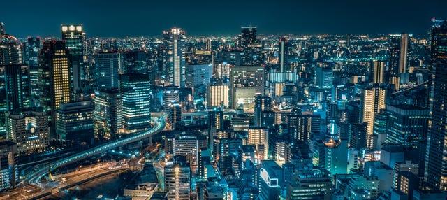 Tour nocturno por Osaka