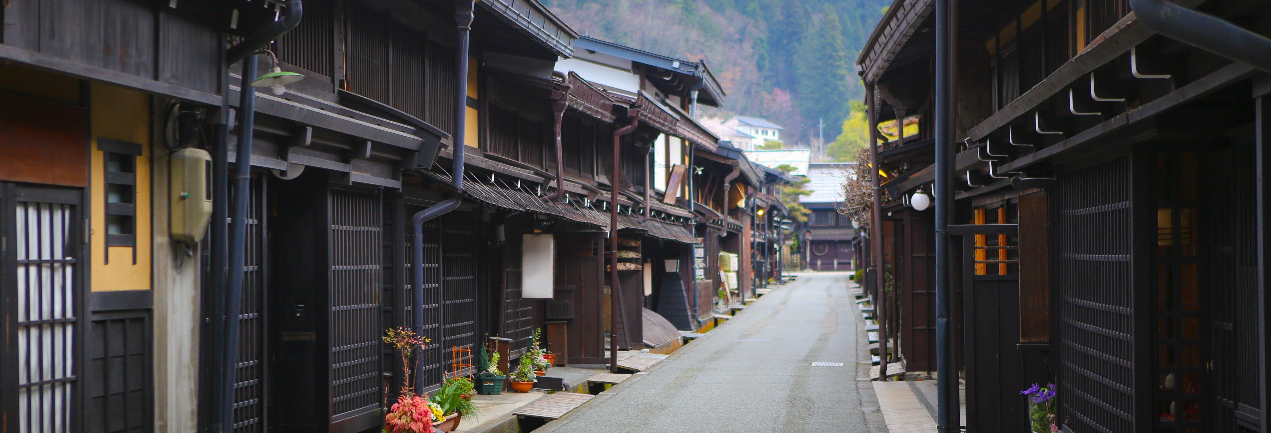 Visita guiada por Takayama