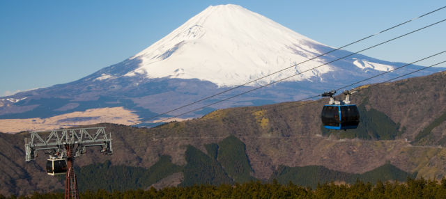 Excursion à Hakone et au belvédère du Mont Fuji