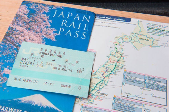Route planning with the Japan Rail Pass