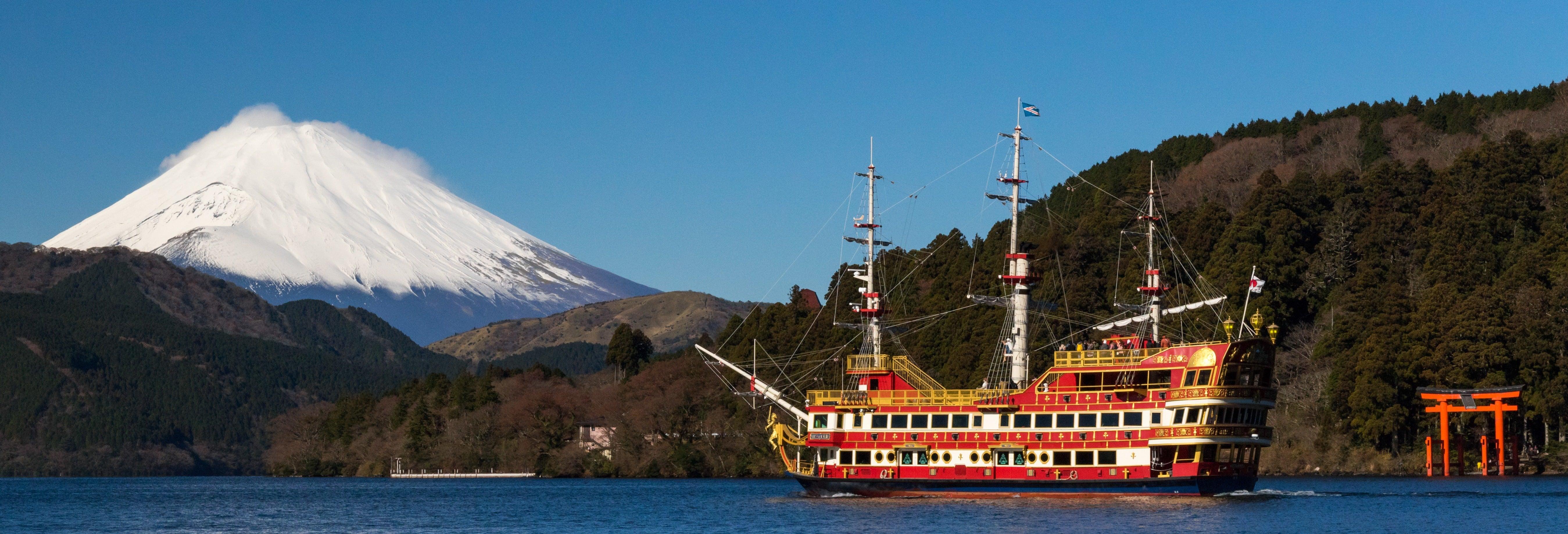 Lake Ashi, Owakudani & Gotemba Premium Outlets