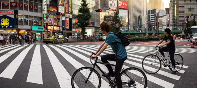 Tour en bicicleta eléctrica por Tokio
