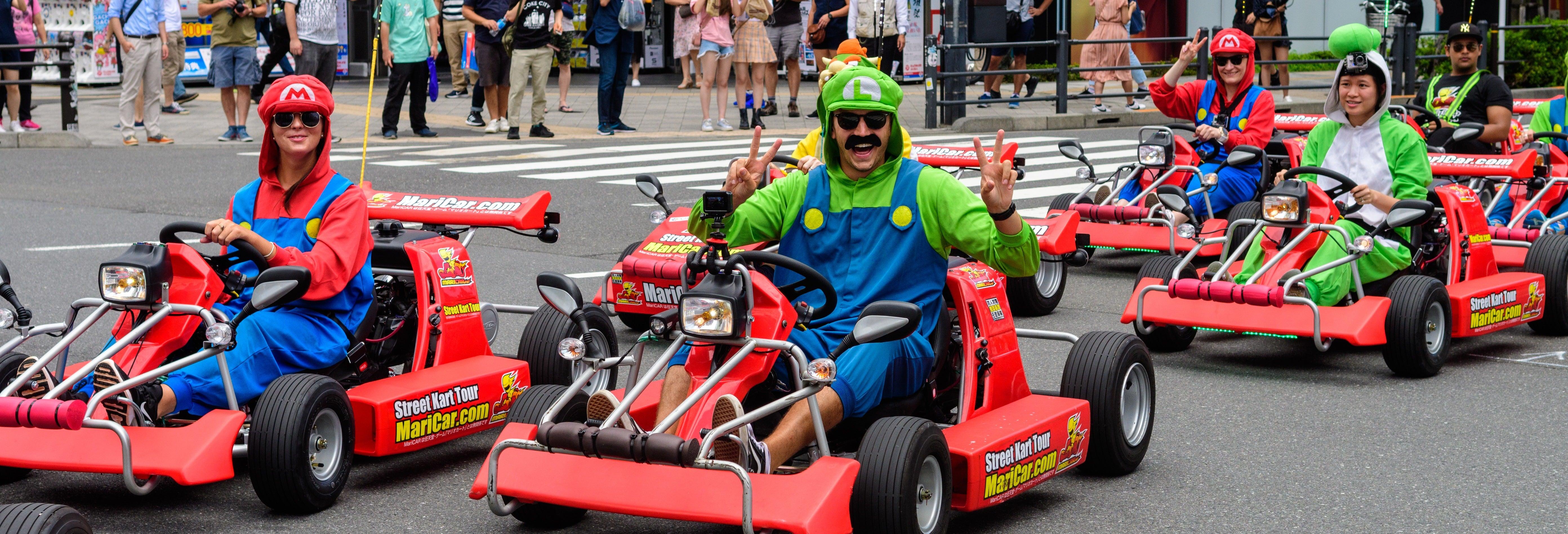 Tokyo Go Kart Tour
