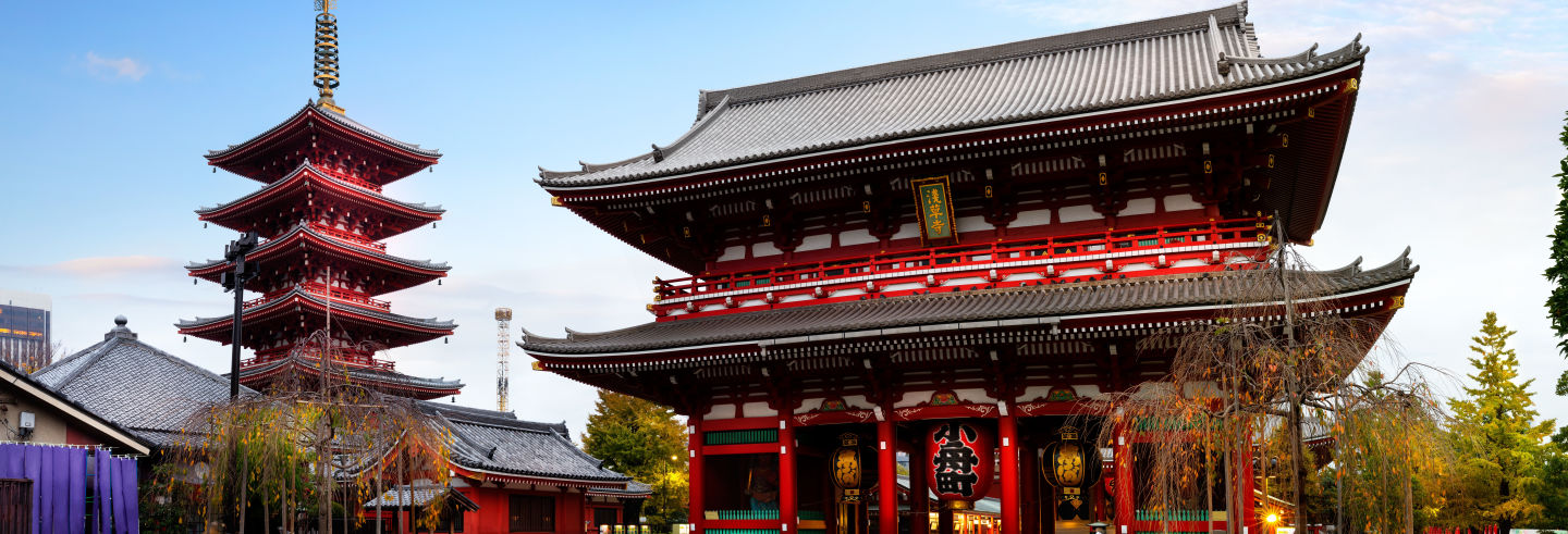 Visite guidée du temple Sensô-Ji