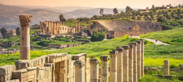 Excursión a Amán, Gerasa y castillo de Ajlun