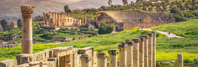 Escursione privata ad Amman, Gerasa e al Castello di Ajlun