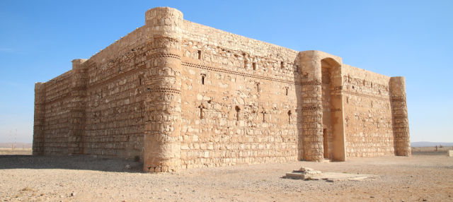 Excursión privada a los Castillos del Desierto y Mar Muerto