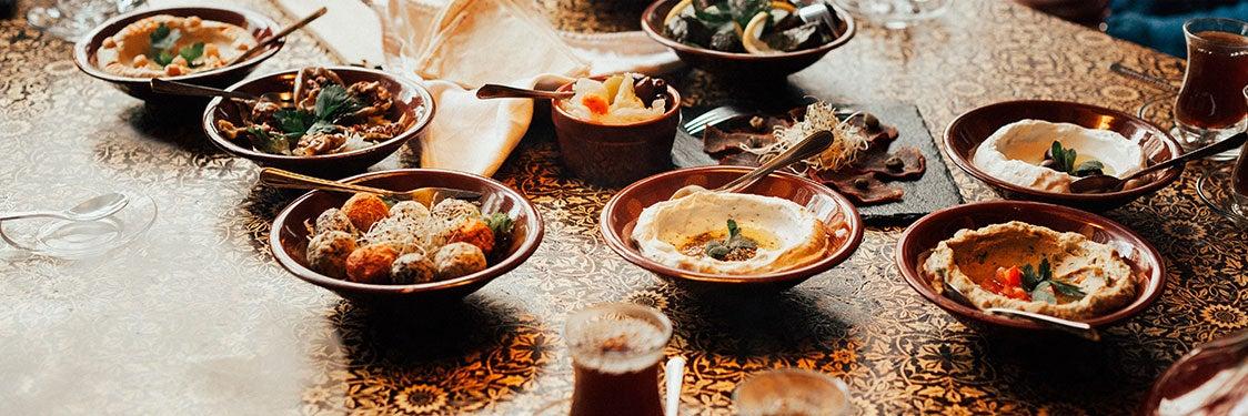 Dónde comer en Jordania