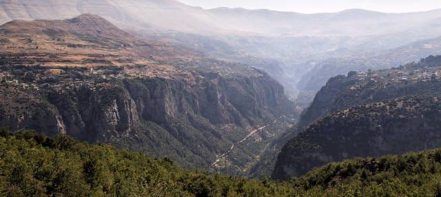 Valle de Qadisha, Monasterio de Qozhaya y Cedros de Dios