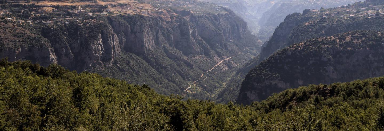 Valle di Qadisha, Monastero di Qozhaya e Cedri di Dio