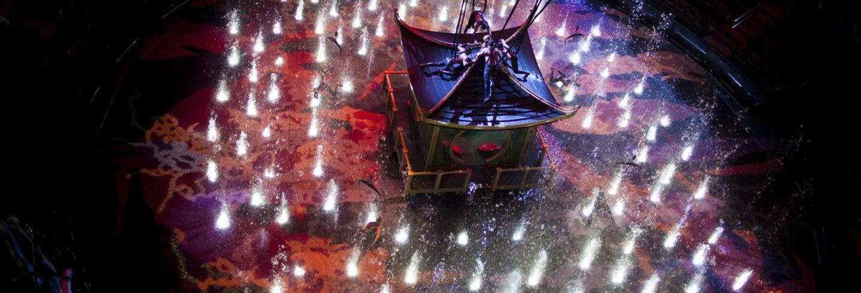 Entrada para el espectáculo The House of Dancing Water