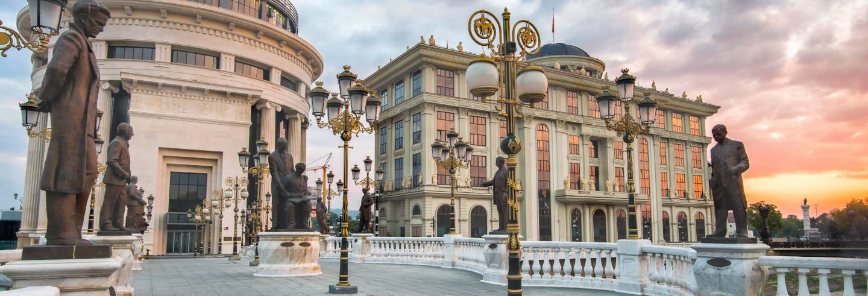 Visita guiada privada por Skopje