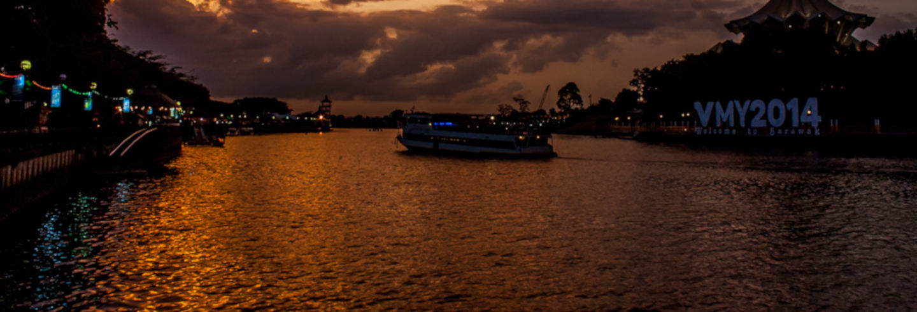 Paseo en barco por Langkawi al atardecer