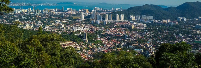 Visite privée de Penang