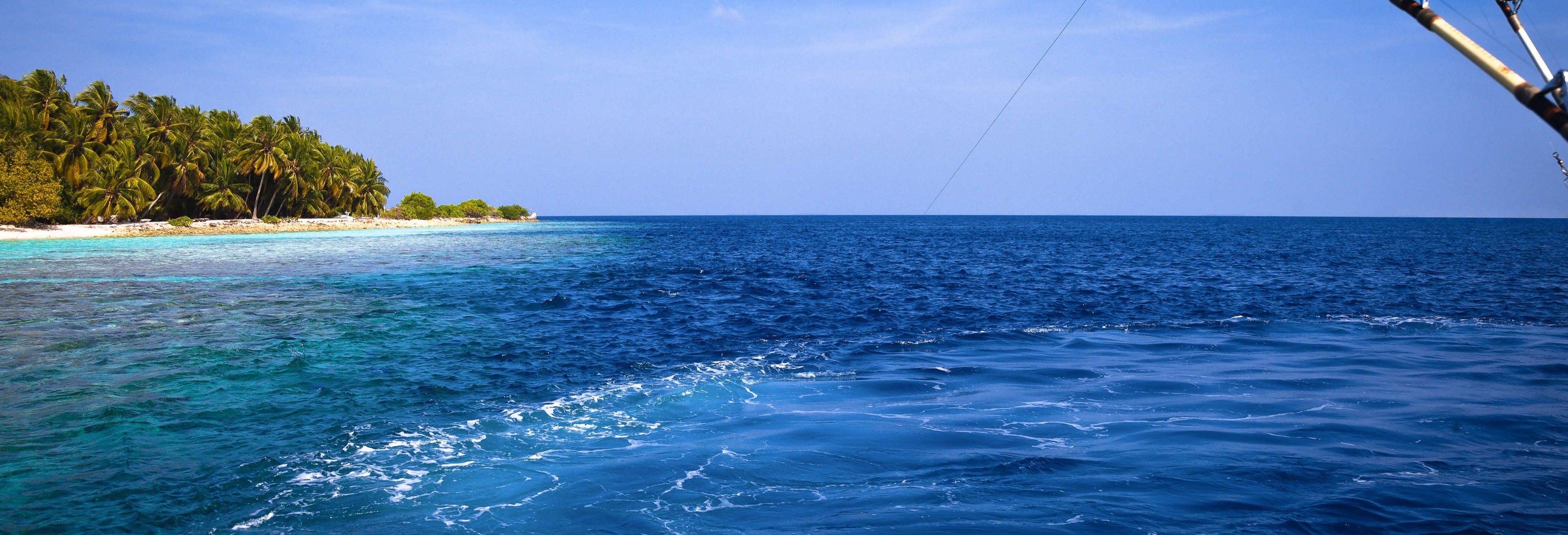 Pesca ao amanhecer ou ao entardecer em Addu