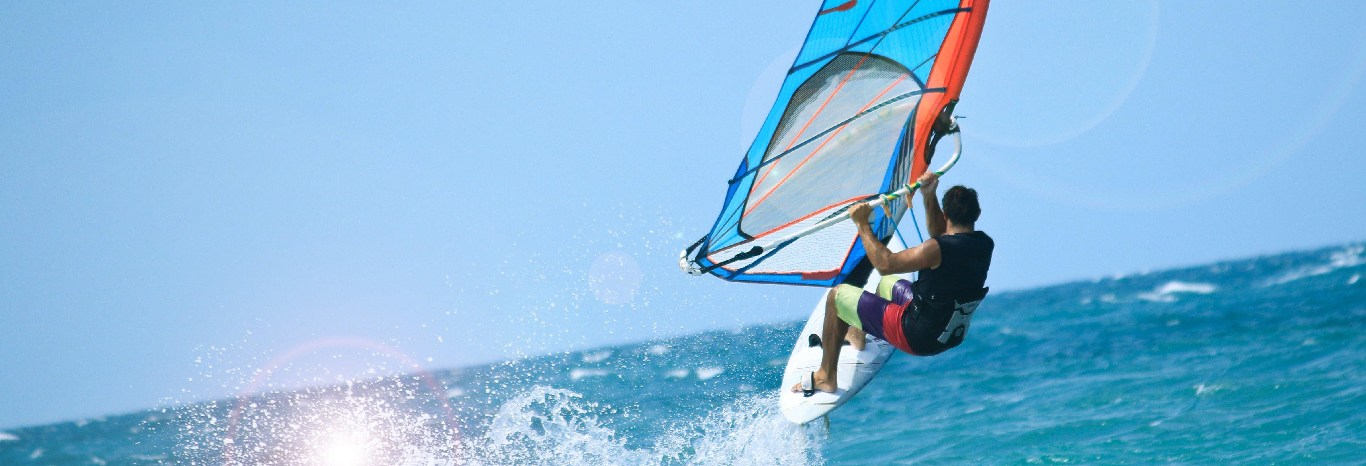 Clase de kitesurf o windsurf en Maafushi