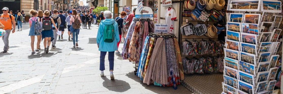 Shopping a Malta