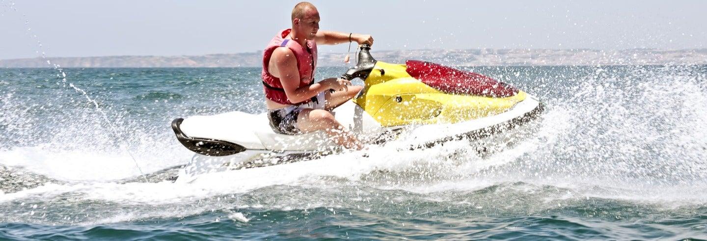 Alquiler de moto de agua en la costa de Agadir