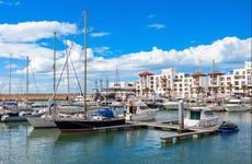 Paseo en barco por la costa de Agadir
