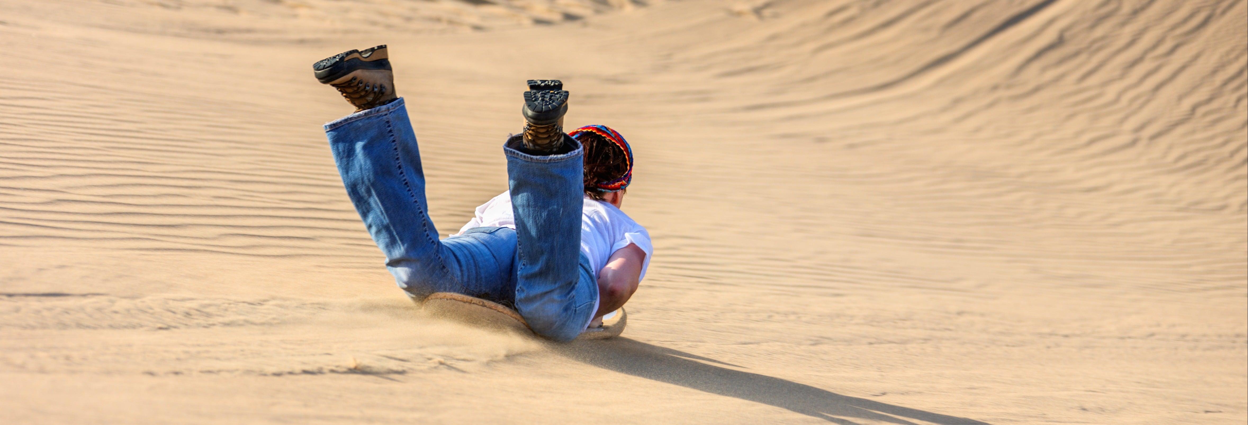 Sandboarding en Agadir