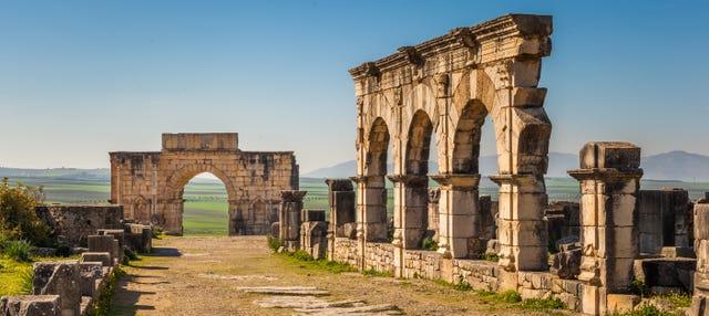 Excursión privada a Meknes y Volubilis