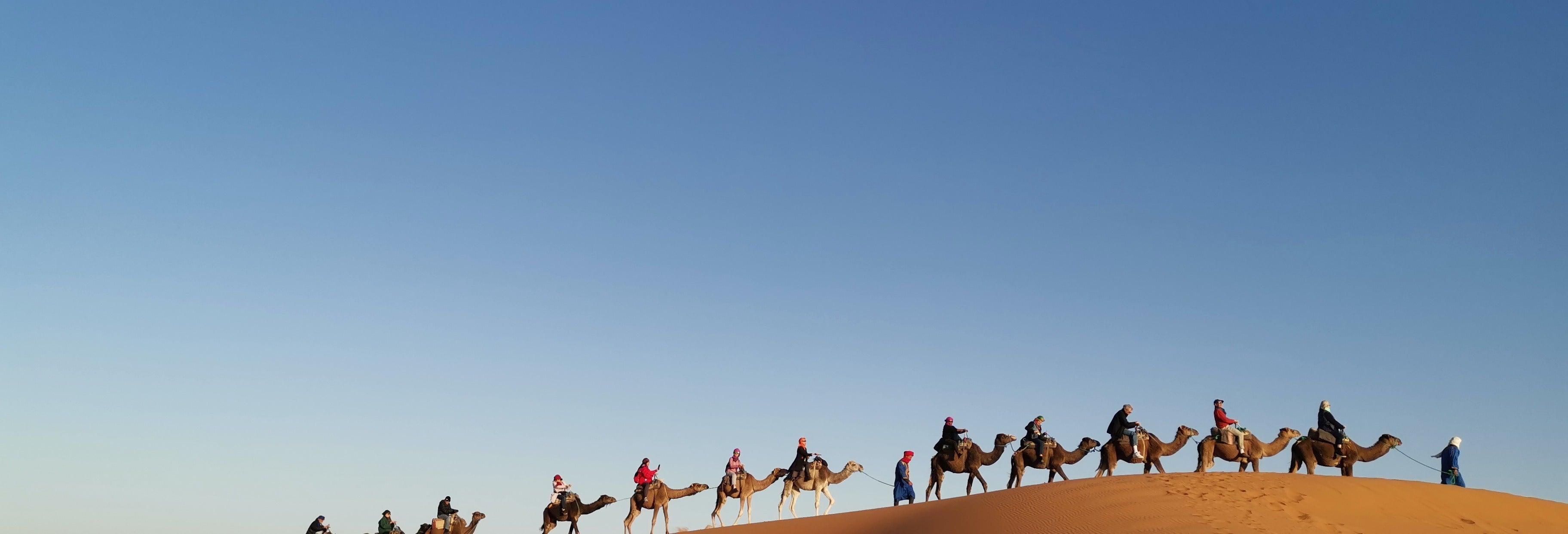 4 días a Merzouga finalizando en Marrakech