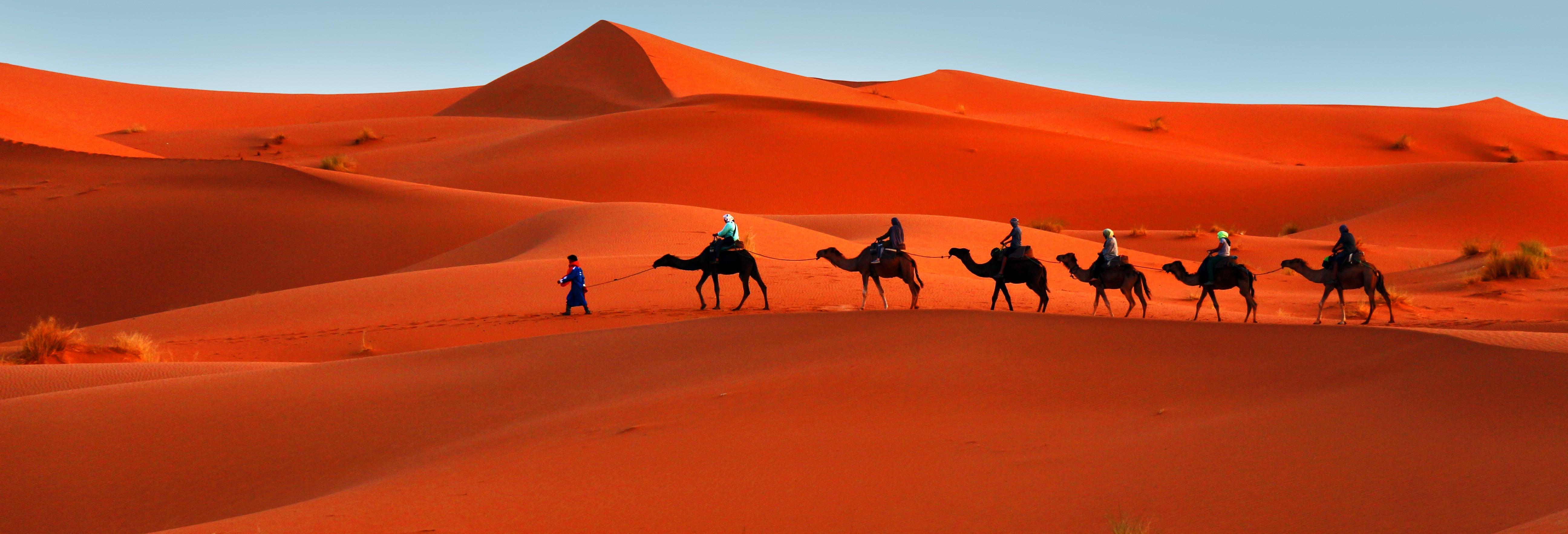 Excursão de 2 dias ao deserto de Merzouga