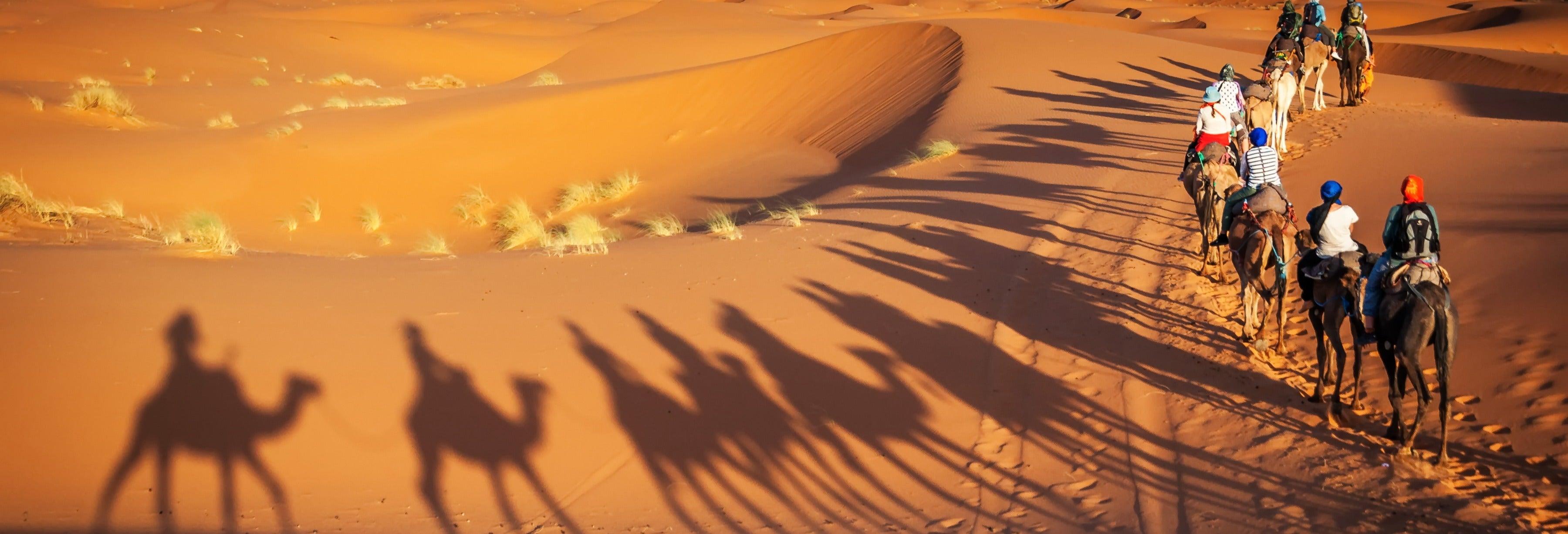 Excursión de 2 días al desierto de Merzouga acabando en Marrakech