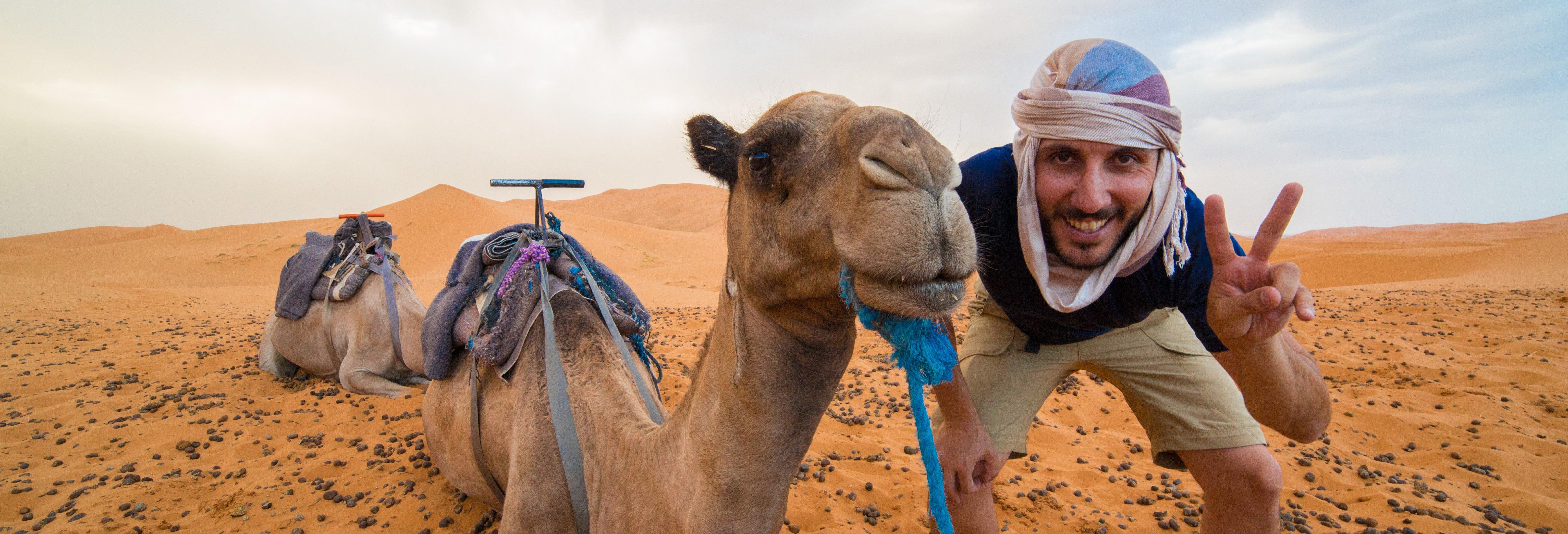 Escursione di 3 giorni nel deserto di Merzouga fino a Marrakech
