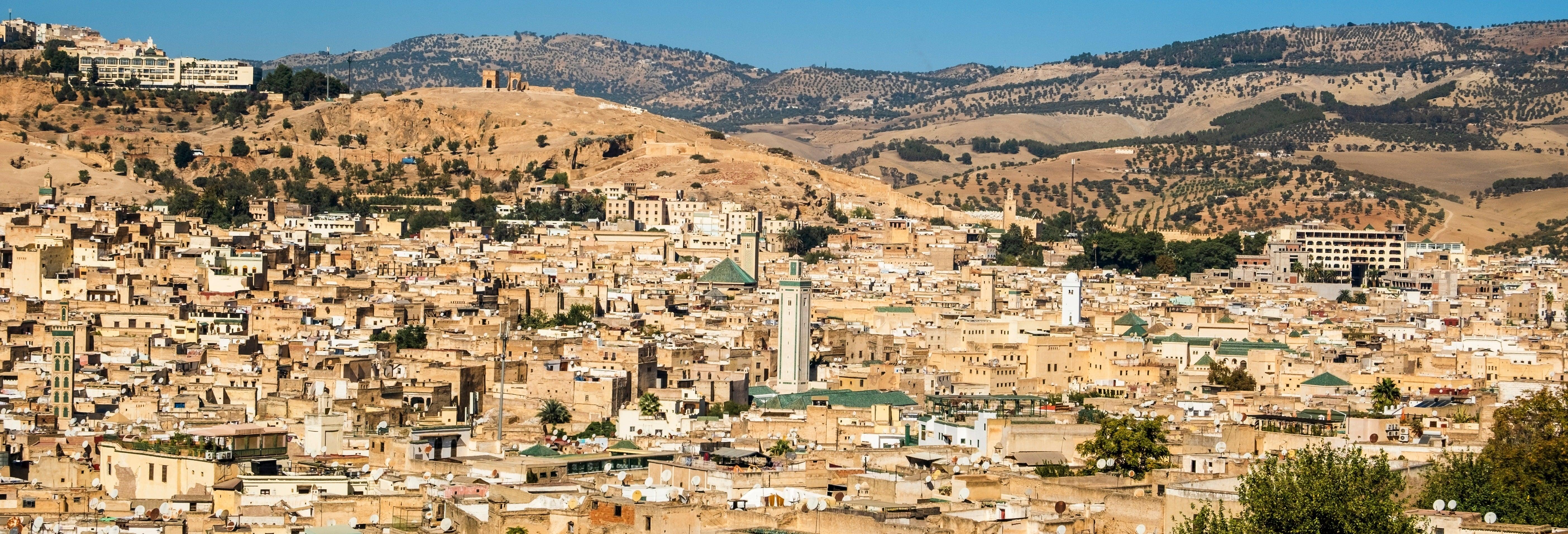 Visita guiada por Fez e tour panorâmico