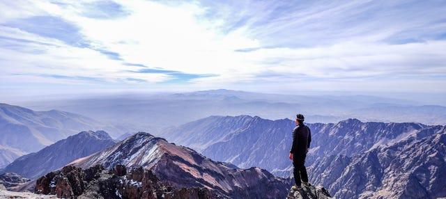 Ruta de 2 días de trekking por el monte Toubkal