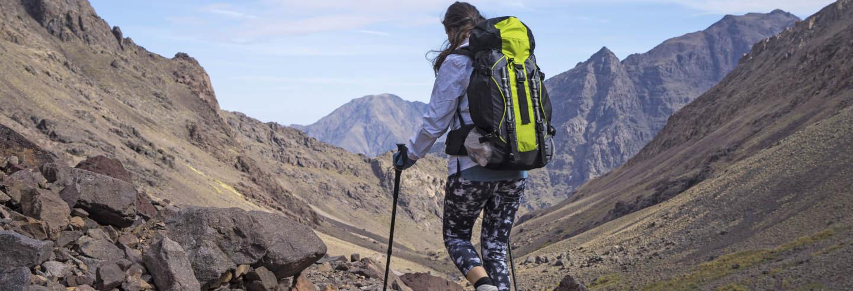 Ruta de 3 días de trekking por el monte Toubkal