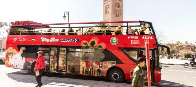 Autobús turístico de Marrakech