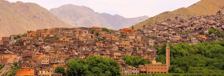 Excursão privada ao Vale de Imlil e ao Planalto de Kik