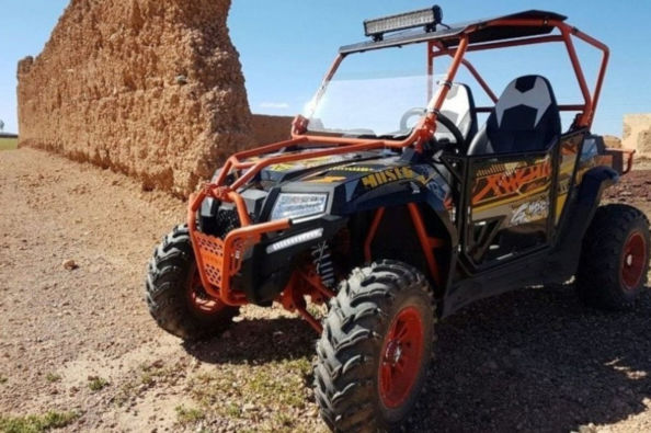The buggy tour in the desert of Marrakech