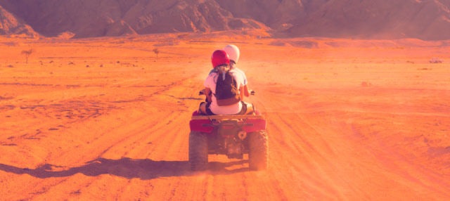 Ruta en quad por el Alto Atlas
