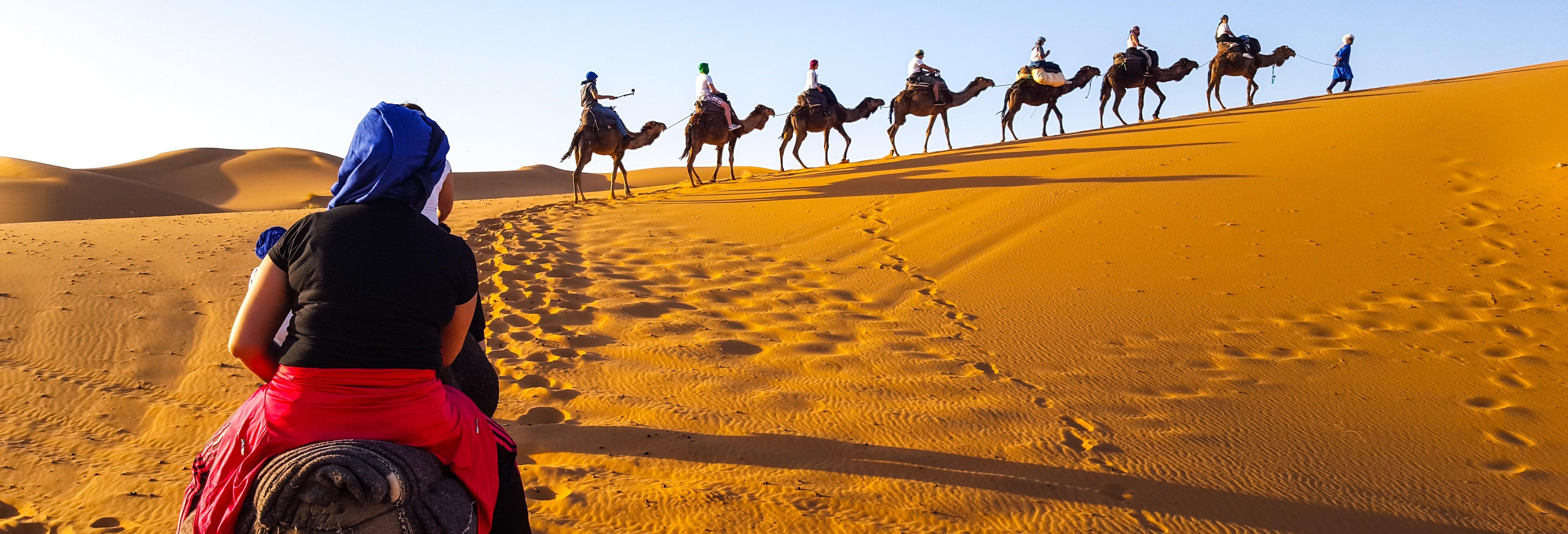 Tour di 4 giorni a Merzouga fino a Fez