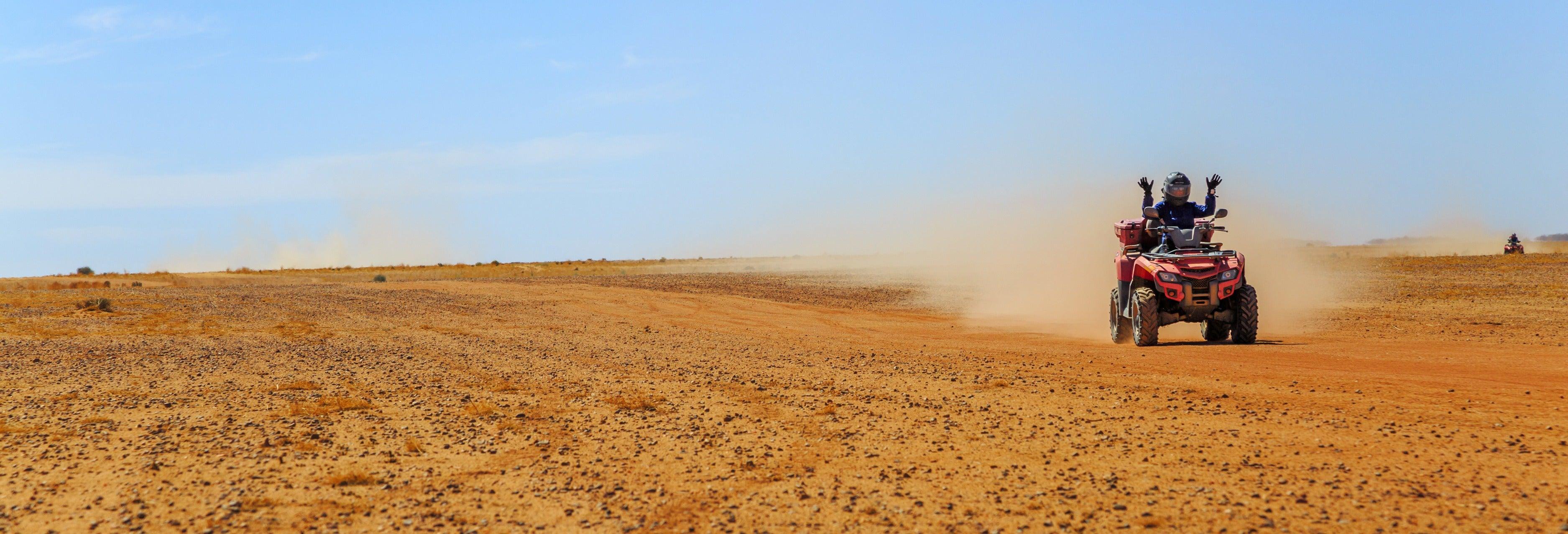 Tour de buggy + Passeio de camelo